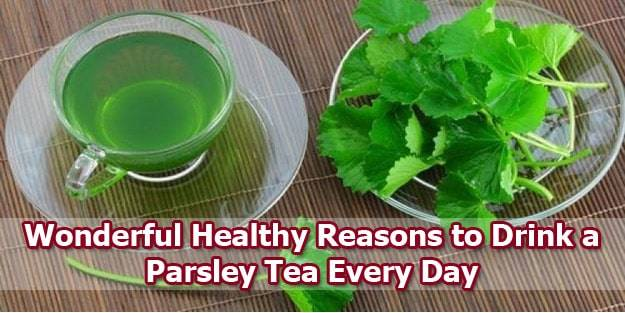 parsley-tea