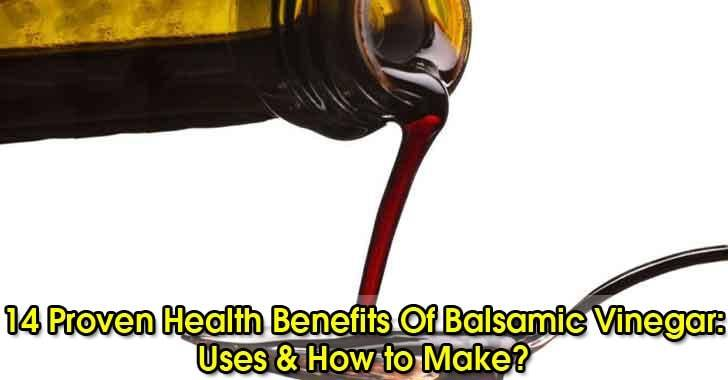 Balsamic vinegar-benefits